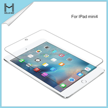 Hot selling 9h 0.33mm 2.5d transparent tempered glass screen protector film for iPad mini 4