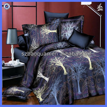 2016 new style design printed 3D bed cover