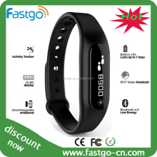 Wireless Bluetooth Activity and Health Pedometer Smart Fitness Tracker Timer Wristband