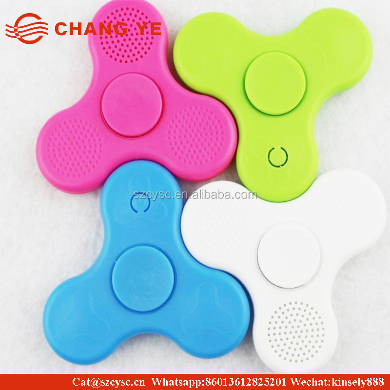 CHANGYELED Light MINI Bluetooth Audio Hand Fidget Spinner Music Speaker,Perfect For ADD,ADHD,Autism Pressure Relief Killing Time