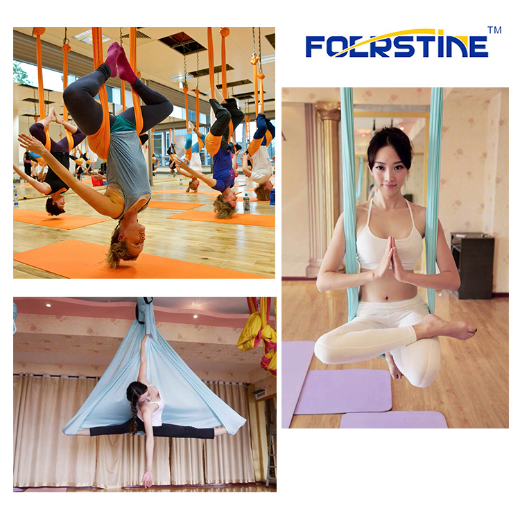 250*150cm High quality nylon fabric cloth fitness aerial yoga hammock yoga swing