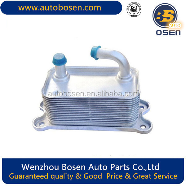 Oil Cooler with For Volvo B 5254 2.4L S40 V50 V50 V60 C70 XC60 31201909/30774483/30713358