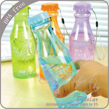 650ML 23oz bpa free cycling bicycle bike sports unbreakable plastic water bottle