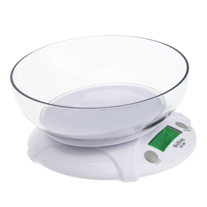 3kg/0.5g Mini Portable Electronic Digital Kitchen Scale with Bowl Pocket Scales LCD Display Drop shipping Wholesale