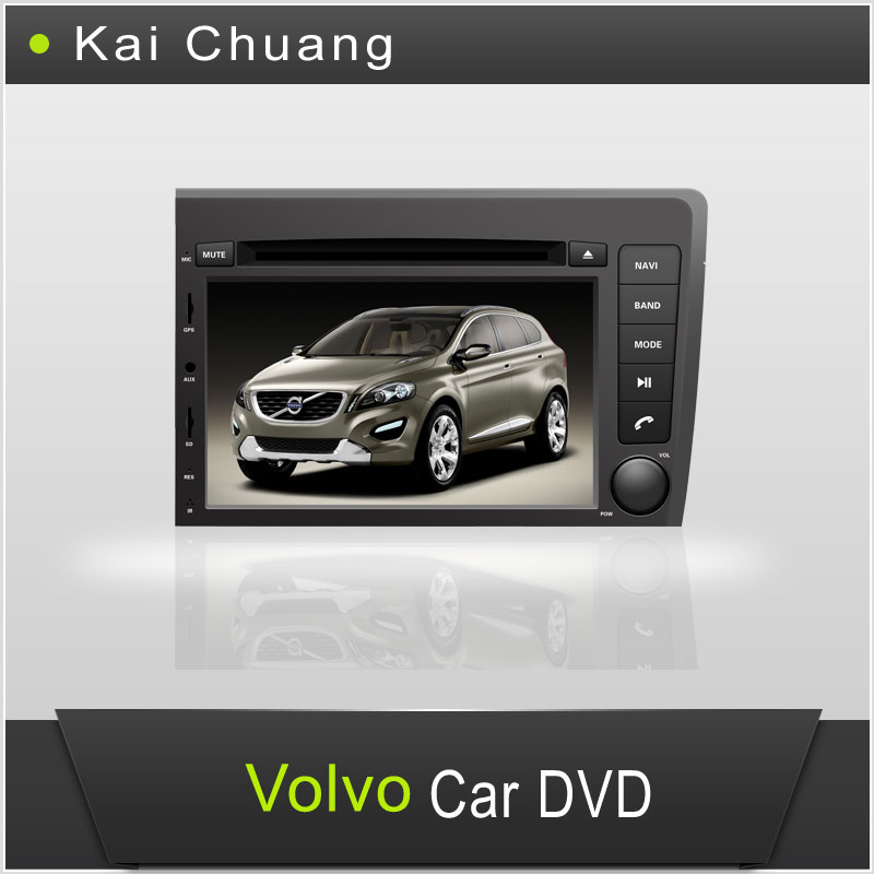 7inch Volvo S60 DVD GPS Radio with Bluetooth Ipod USB SD