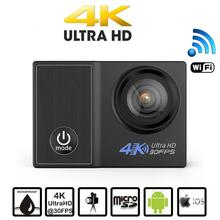 Plastic hd mini dv cheap action camera 4k ultra hd camara deportiva 4k