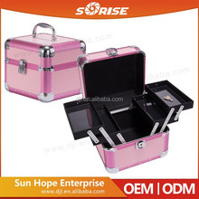 Sunrise Antique Large Luxury Cheap Custom Jewelry Box Hot Recommend With Multilayer Trays