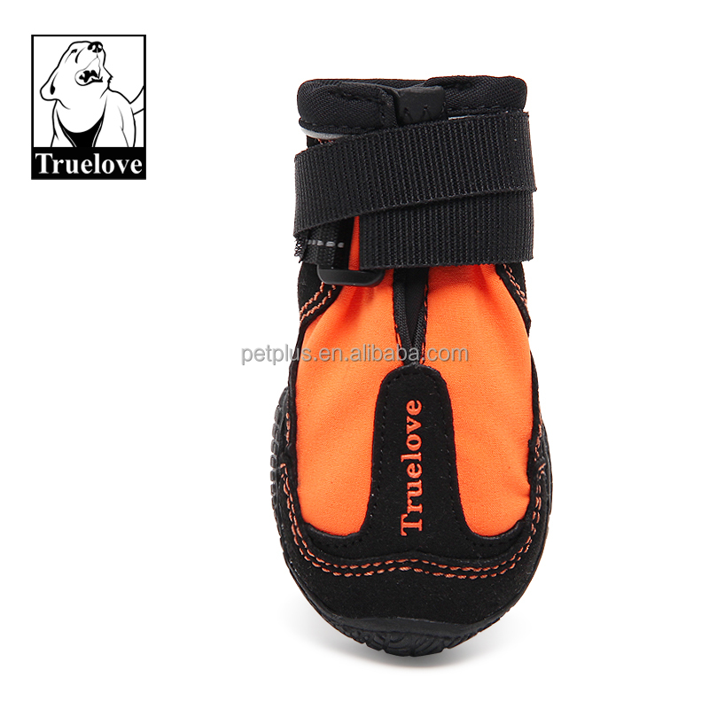 Truelove outdoor waterproof Soft rubber sole fashion dogs shoes