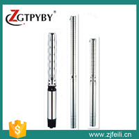 High head high flow centrifugal vibration submersible water pump