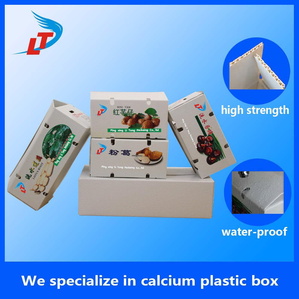 vegetable shipping box