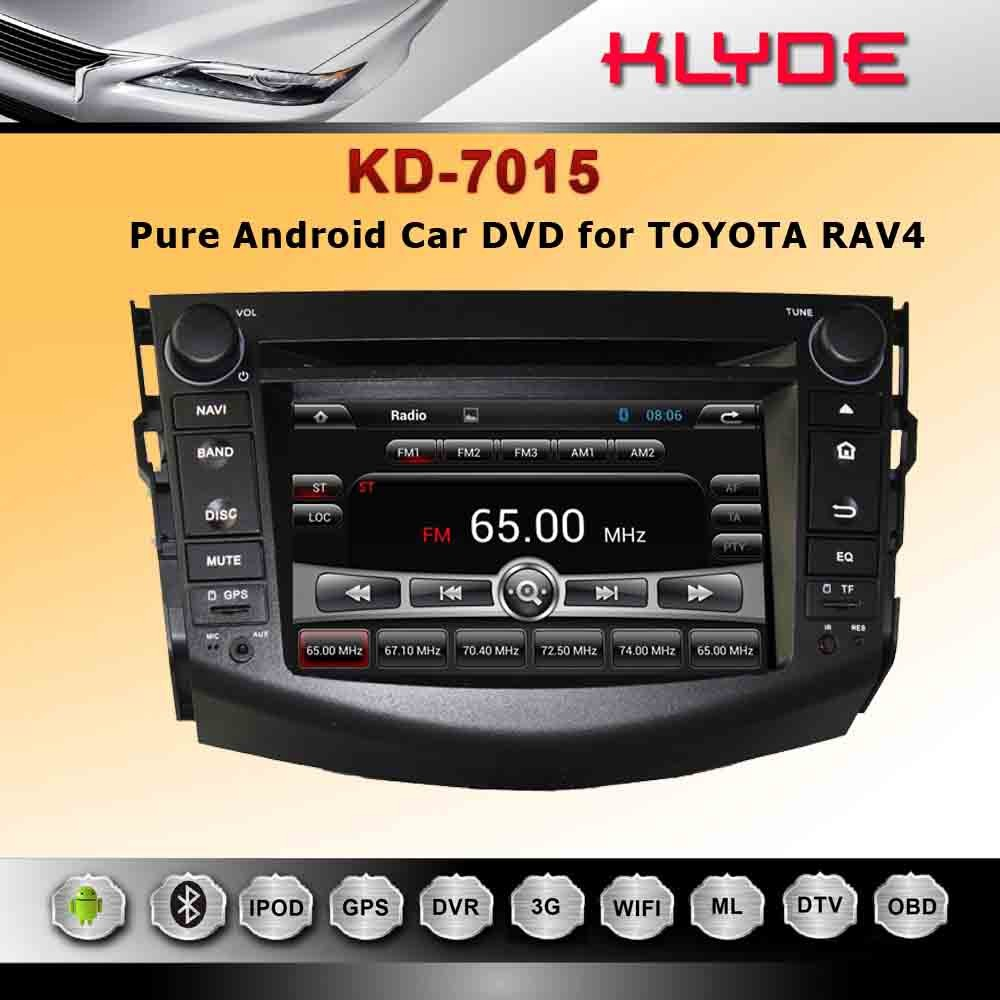 good quality Android 4.2 car radio 2 din 7 inch car dvd player/1 din car pc for RAV4(2006-2012)