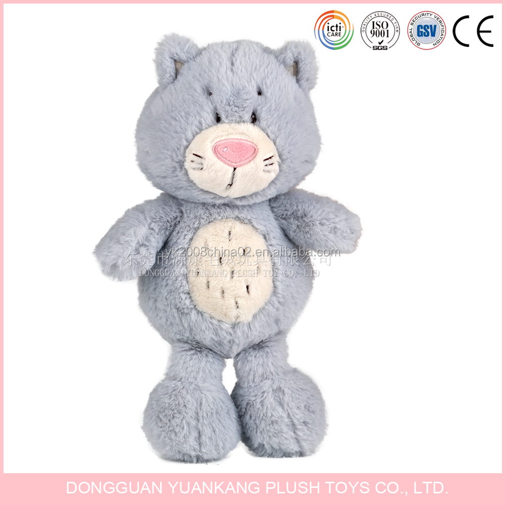 Lifelike Make Stuffed Animal Cat Plush Cute Cat Plush Toy