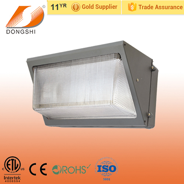 China factory price daylight 60W outdoor LED wall pack light