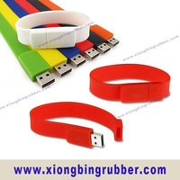 Fashion silicone USB bracelet
