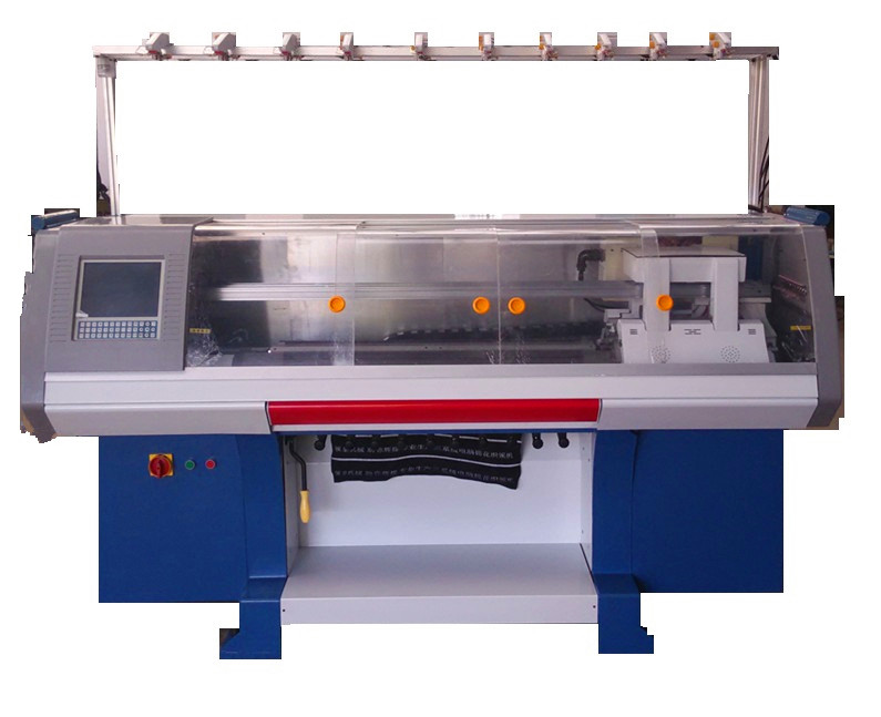 Three system Fully Jacquard Collar Knitting Machine