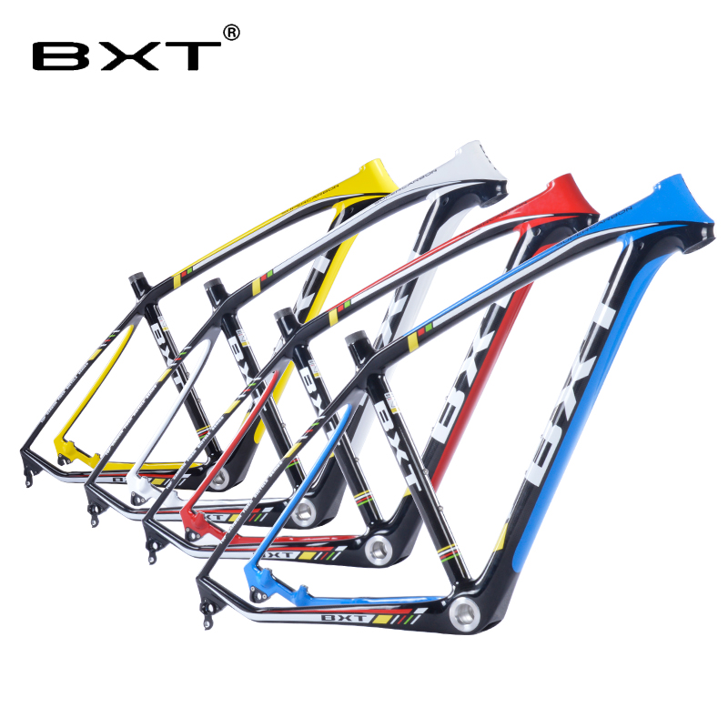 Chinese cheap bicicletas mountain bike 29 4 color mtb carbon frame 29er used racing bike cyclocross frame bicycle frame