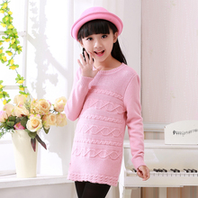 latest design collared/v-neck woolen sweater designs for girls