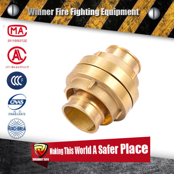 Adjustable CCC certificated 2.5 inch Aluminium Fire Hose Nozzle