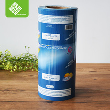 Full color printed packaging plastic film for water pouch
