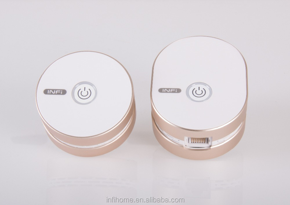 Pink wireless router smart for home