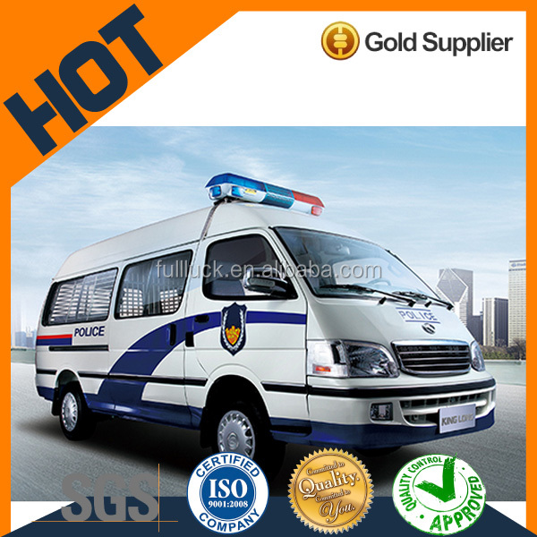 King Long Police Van with good price for hot sale