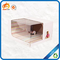 Clear folding rectangle paper cardboard bakery cake box wholesale