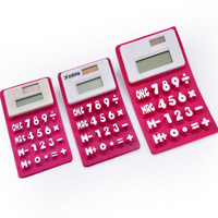20 Keys Folding Silicone Calculator, 8 Digit Daul Power Calculator Price
