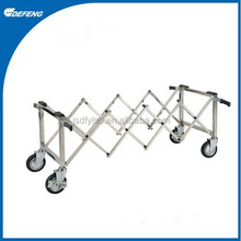 DQC-12 Durable stainless steel cinerary casket cart
