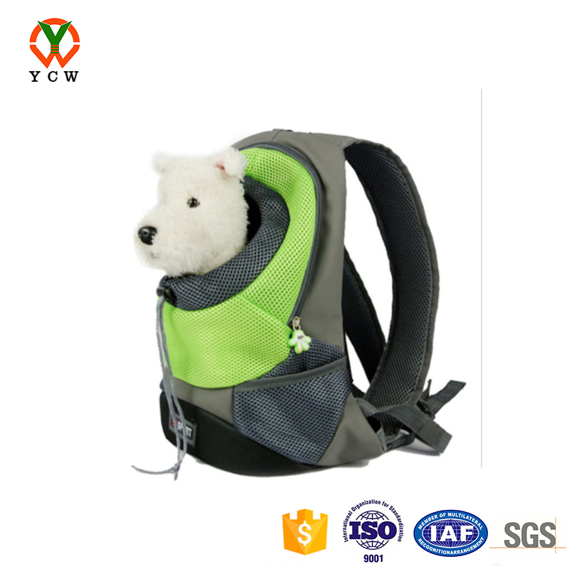 Pet carrier backpack bag oem customized personalised dog back carrier bag