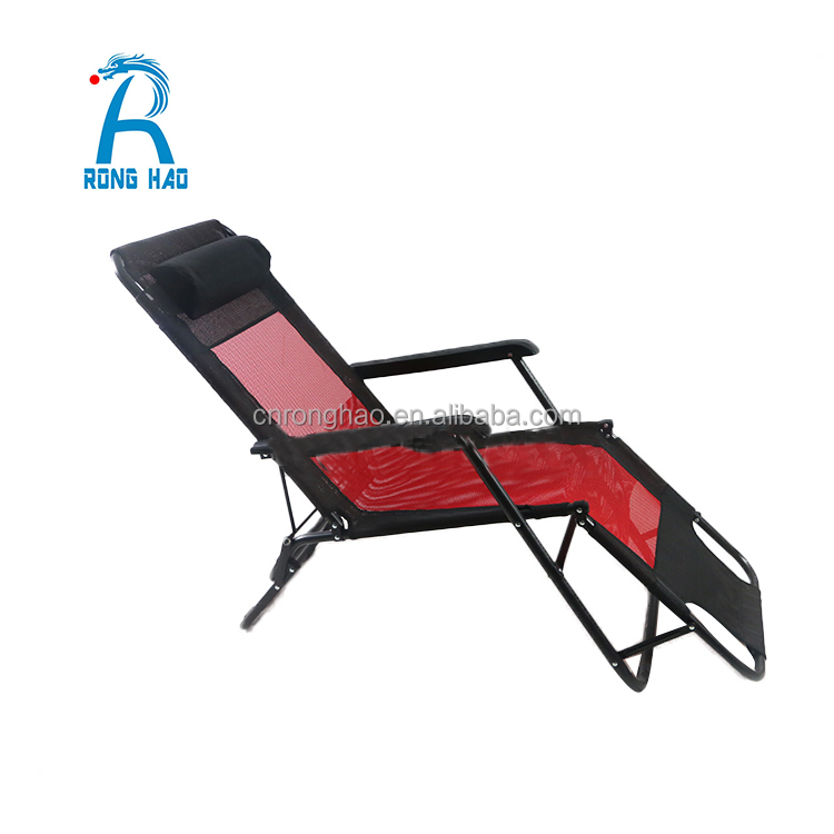 Beach Garden Portable Folding Lounger Chair Factory