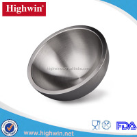 Baking Commercial stainless steel double wall Eco Friendly mixing Bowl