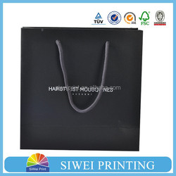 black and white packaging design paper shopping bag large sizes