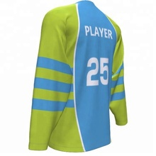 Personnalisé Hockey Sur Glace Jersey Chine Sublimation Inline Hockey Jersey
