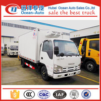 Small 3TON Japanese refrigerated truck manufacturer