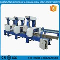 Motor driven band saw machine for cutting large logs