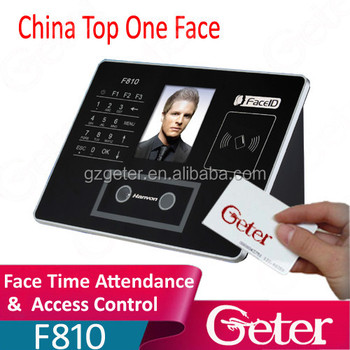 Good quality F810 face time attendance face access control