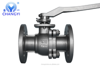 Stainless Steel 2pc ANSI 150lb RF Flanged Ball Valve Best Quality Made In China Lowest Price Factory Price