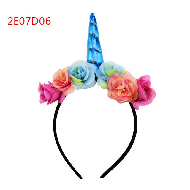 2018 New design flash onion skin flamingos headband plastic hair bands with teeth