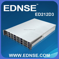 New Model ED212-D3-D Hot Swap 12 x 3.5 inch Bay Expander 2U Server Case