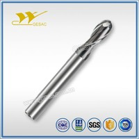 2 Flute Ballnose with Long Shank length cnc milling for Steel or Cast Iron High Efficiency Milling