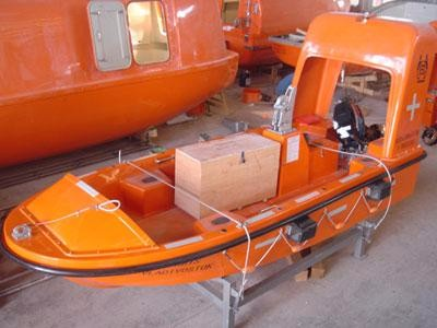 CCS Approved Rescue <strong>Boat</strong> 4.5m 6 Persons Marine Rescue <strong>Boat</strong> with Mercury Engine and Davit
