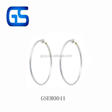 Non Piercing Hoop Earrings Circular Clip On Ear Cuff Ear Rings