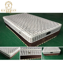 5 star hotel knock down bed base boxspring mattress from manufacturer