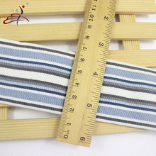 Unique design royal blue customized elastic webbing of high quality