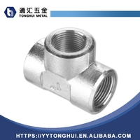 304 Stainless Steel Butt Weld Pipe Fitting Tee From China Supplier
