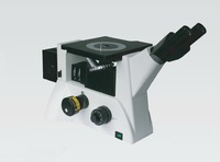 2000X Magnification DIC Inverted Trinocular Metallurgical Microscope
