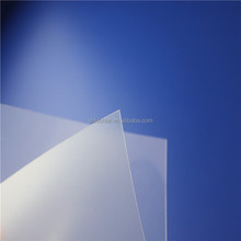 Frosted semi transparent plastic sheet blister film