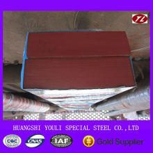 Forged / Hot rolled Alloy tool steel bars / square blocks 1.2714 / 5CrNiMo / SKT4 / ASTM L6 / DIN 55NiCrMoV6 / ISO 55NiCrMoV2