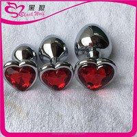 Wholesale China Merchandise Stainless steel silver cheapest metal anal plug sex toy