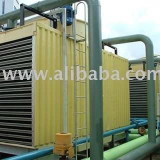 Cooling tower cross flow